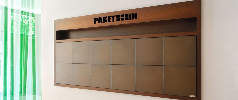 Paketkastenlösung für Firmen von PAKETIN
