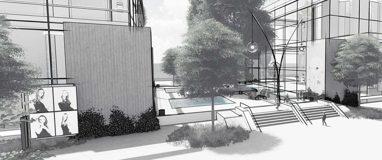Skizze Architekt