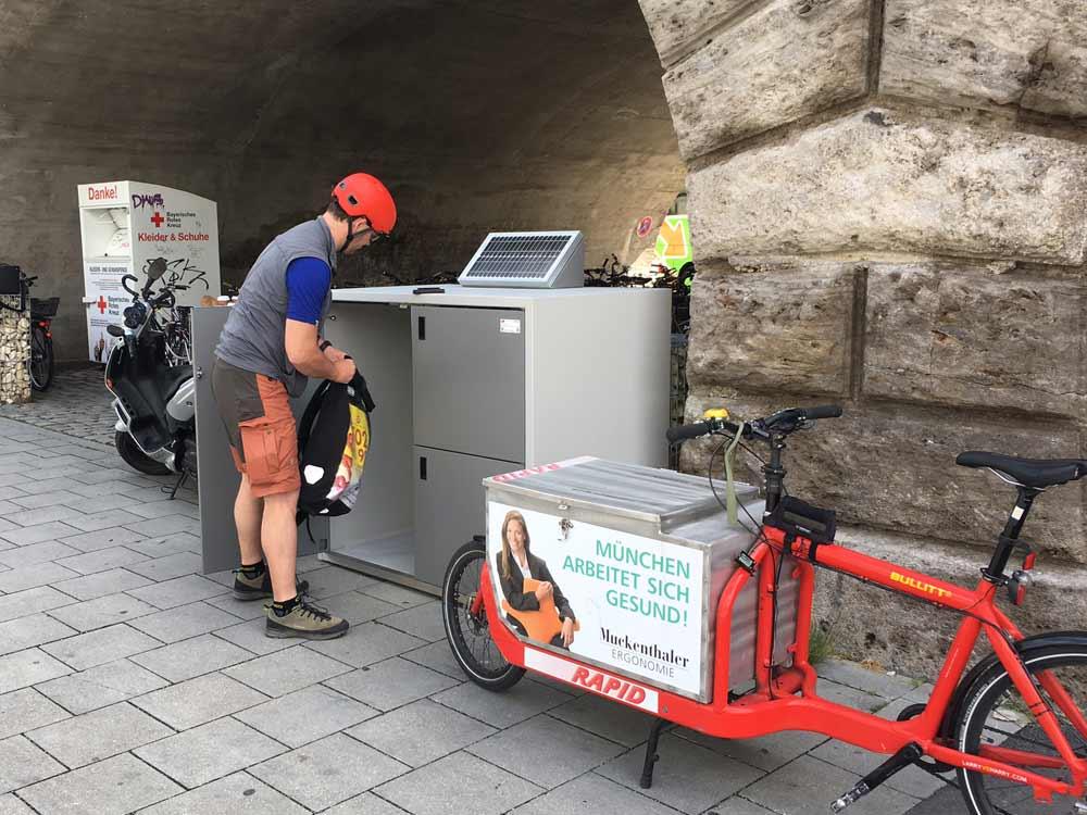 Micro-Hub für Lastenräder